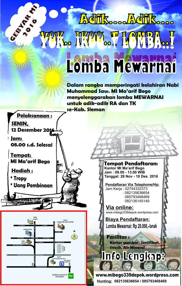 Lomba Mewarnai 2016 Mochamad Nurul Huda